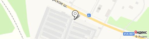 Шиномонтажная мастерская на карте Большой Ижоры