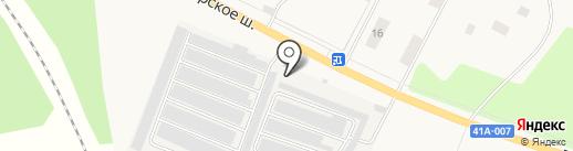 Автоцентр на карте Большой Ижоры