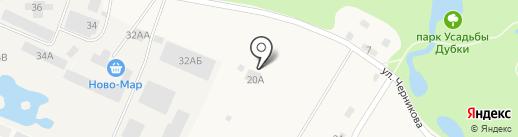 Ломоносовское лесничество на карте Санкт-Петербурга