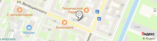 Многофункциональный центр предоставления государственных услуг Кронштадтского района на карте Санкт-Петербурга