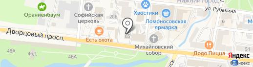 37-й отряд ФПС по Ленинградской области на карте Санкт-Петербурга