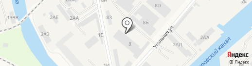 Брандвахта, ЗАО на карте Санкт-Петербурга