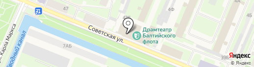 Драматический театр Балтийского флота на карте Санкт-Петербурга