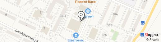 Адвокатский кабинет Мартиросян М.И. на карте Санкт-Петербурга