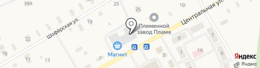 Магнит на карте Сяськелево