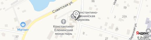 Никольская Церковь на карте Ленинского