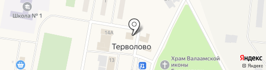 Альянс на карте Терволово