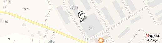 Наша Свая на карте Разбегаево
