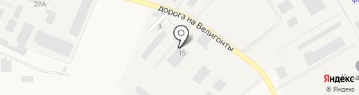 Сила Сваи на карте Разбегаево