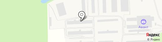Маркон-Холод на карте Разбегаево