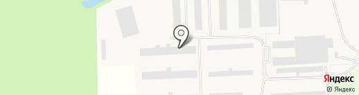 Ульянка на карте Разбегаево