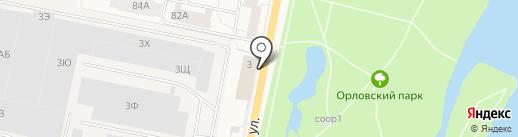 Эторус на карте Санкт-Петербурга