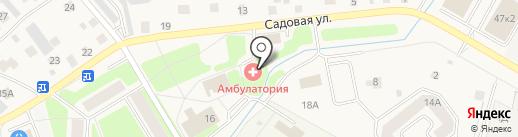 Аннинская врачебная амбулатория на карте Аннино