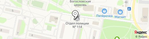 Победа, ЗАО на карте Аннино