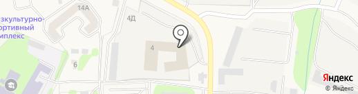 Общество Содействия Автомобилистам на карте Аннино