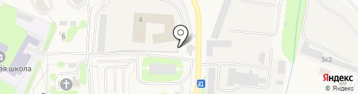 Автомойка на карте Аннино