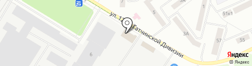 KOMANDOR на карте Гатчины