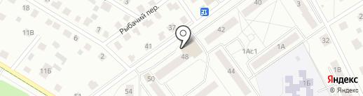 Магазин электротоваров на карте Гатчины