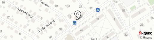 РИК на карте Гатчины