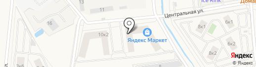 Арина на карте Новоселья