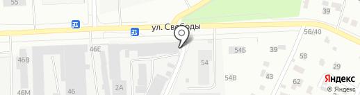 Русинвест на карте Санкт-Петербурга