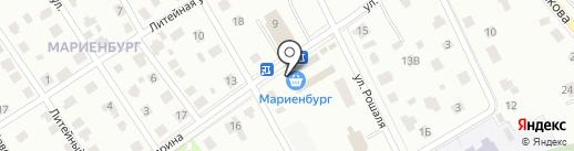 ОБЛАКО на карте Гатчины