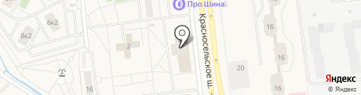 Почтовое отделение №507 на карте Новоселья