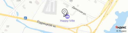 Гатчинский гостевой дом на карте Гатчины