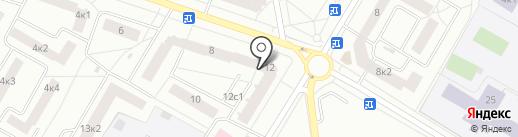 Екатерина на карте Гатчины
