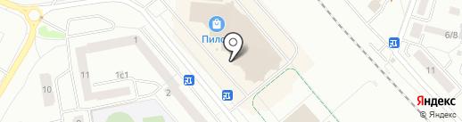Связной на карте Гатчины