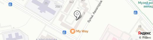 Забава на карте Гатчины