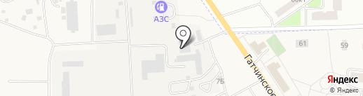 Шиномонтажная мастерская на карте Виллози