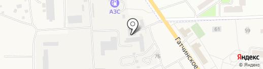 Автомойка на карте Виллози