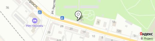 Гатчинская оранжерея на карте Гатчины