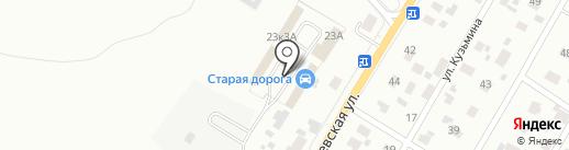 Старая Дорога на карте Гатчины