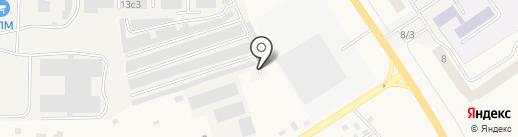 Шиномонтажная мастерская на ул. Виллози на карте Виллози