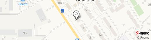 Техстройконтракт на карте Виллози