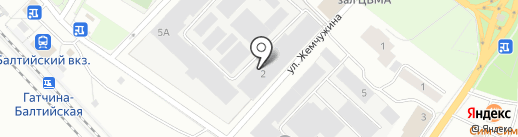 Русь на карте Гатчины