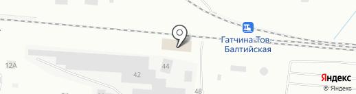 Гатчинский Электротехнический завод на карте Гатчины