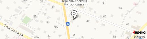 Магазин автозапчастей для иномарок на ул. Юного Ленинца на карте Тайцев