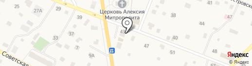 Магазин товаров для ремонта и быта на ул. Юного Ленинца на карте Тайцев