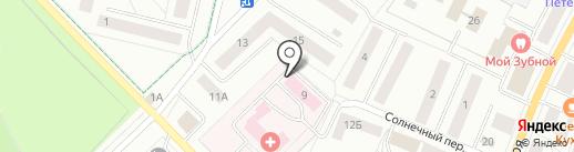 Медтехника-1 на карте Гатчины