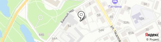 Центр рекламных технологий на карте Гатчины