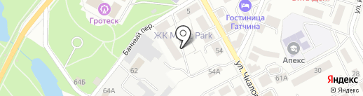 МебельТорг на карте Гатчины