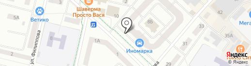 ВИАЛТЕКС на карте Гатчины