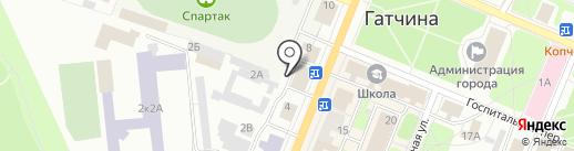 ГЕОЛИДЕР на карте Гатчины