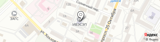 Санкт-Петербургский институт внешнеэкономических связей, экономики и права на карте Гатчины