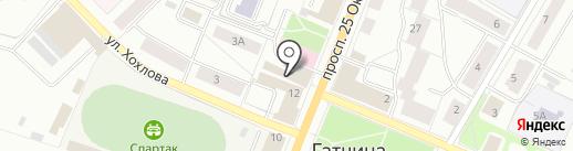 Белорусский трикотаж на карте Гатчины