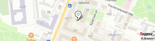 СЭМ на карте Гатчины