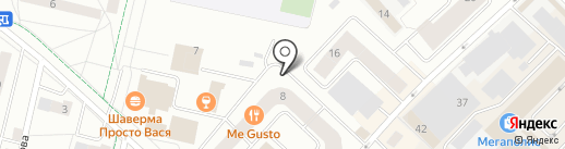 Додо Пицца на карте Гатчины